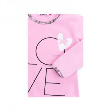 """Пижама Matilda с сердечками """"Love"""" (7585-128G-pink) - фото 8"""
