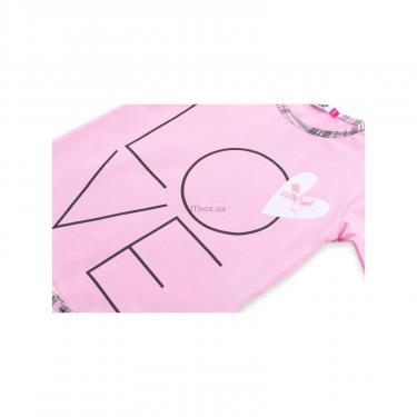 """Пижама Matilda с сердечками """"Love"""" (7585-128G-pink) - фото 9"""