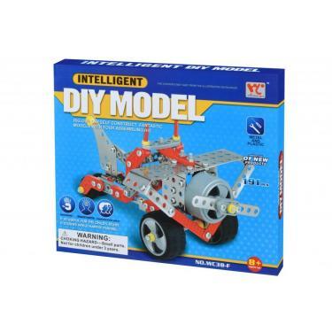 Конструктор Same Toy Inteligent DIY Model Самолет 191 эл. (WC38FUt) - фото 1
