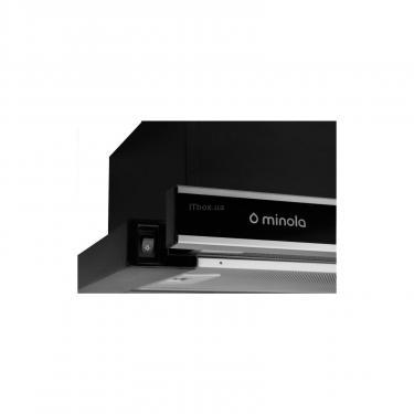 Витяжка кухонна Minola HTL 6060 I/ BL GLASS 430 - фото 3