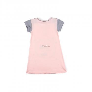 Пижама Matilda сорочка із зірочками (7992-3-122G-pink) - фото 2