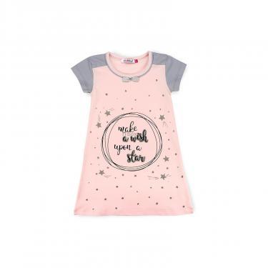 Пижама Matilda сорочка із зірочками (7992-3-122G-pink) - фото 1