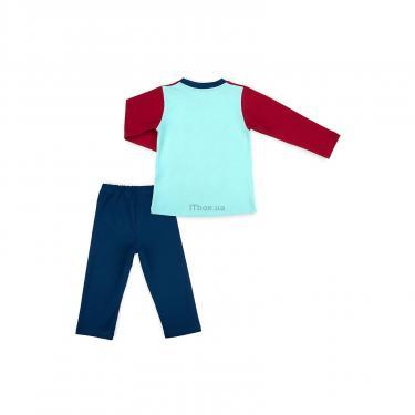"Пижама Matilda ""CAMPUS"" (7500-98B-blue) - фото 4"