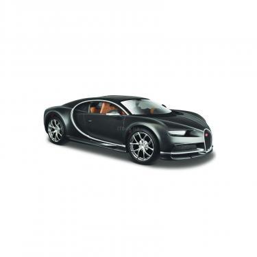 Машина Maisto Bugatti Chiron (1:24) серый металлик (31514 met. grey) - фото 1