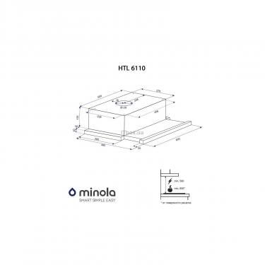 Вытяжка кухонная MINOLA HTL 6110 BR 630 - фото 6