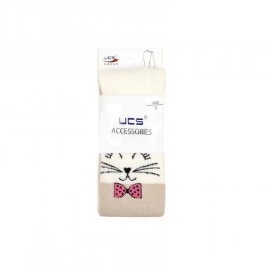Колготки UCS SOCKS с котиками (M0C0301-1275-9G-beige) - фото 3