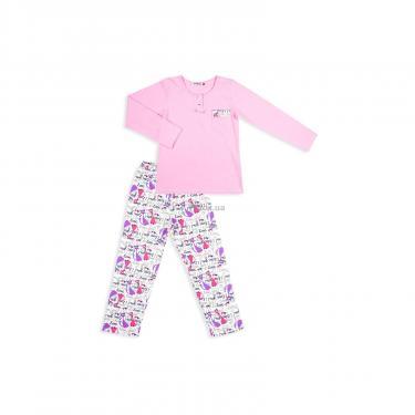 Пижама Matilda с котиками (4158-164G-pink) - фото 1