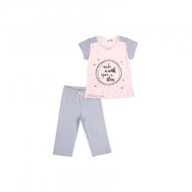 Пижама Matilda со звездочками (7991-116G-pink) - фото 1