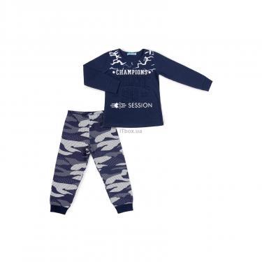 """Пижама Matilda """"CHAMPIONS"""" (9007-134B-blue) - фото 1"""
