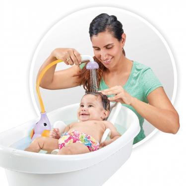 Іграшка для ванної Yookidoo дитячий душ Слоненя, бузковий (70366) - фото 4