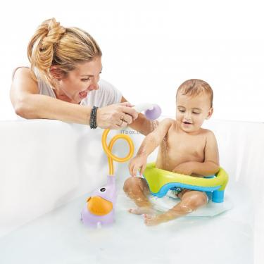 Іграшка для ванної Yookidoo дитячий душ Слоненя, бузковий (70366) - фото 5