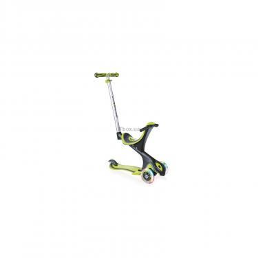 Скутер Globber EVO COMFORT LIGHTS 5 в 1 Зеленый (459-106) - фото 1
