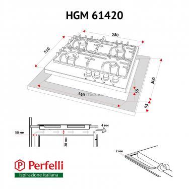 Варочная поверхность Perfelli HGM 61420 IV Фото 5