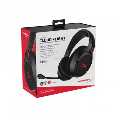Наушники Kingston HyperX Cloud Flight Wireless Gaming Headset for PC/PS4 Black (HX-HSCF-BK/EM) - фото 11