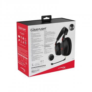 Наушники Kingston HyperX Cloud Flight Wireless Gaming Headset for PC/PS4 Black (HX-HSCF-BK/EM) - фото 12