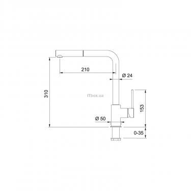 Кухонный смеситель Franke Sirius (115.0476.822) - фото 2