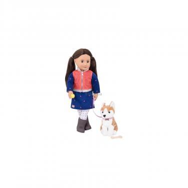 Кукла Our Generation Лесли с собакой 46 см (BD31201Z) - фото 1