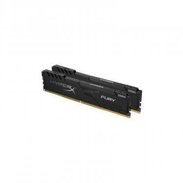 Модуль памяти для компьютера Kingston Fury (ex.HyperX) DDR4 16GB (2x8GB) 3200 MHz HyperX FURY Black Фото 1