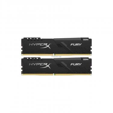 Модуль памяти для компьютера Kingston Fury (ex.HyperX) DDR4 16GB (2x8GB) 3200 MHz HyperX FURY Black Фото