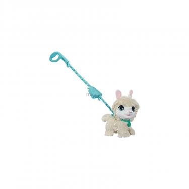 Интерактивная игрушка Hasbro FurReal Friends Большой питомец на поводке Лама Фото