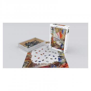 Пазл Eurographics Париж через окно. Марк Шагал, 1000 элементов Фото 2