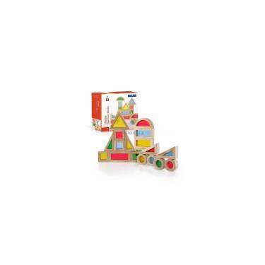 Игровой набор Guidecraft уменьшенных блоков Block Play Маленькая радуга, 20 Фото