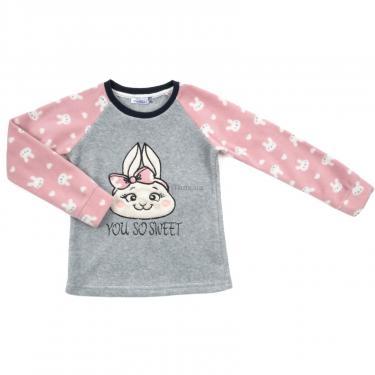 Пижама Matilda флисовая (11013-3-116G-pink) - фото 2