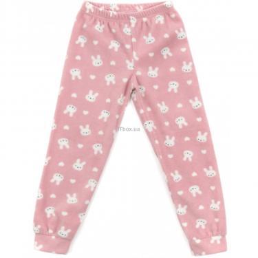 Пижама Matilda флисовая (11013-3-116G-pink) - фото 3