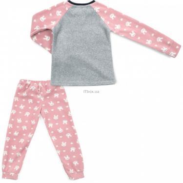 Пижама Matilda флисовая (11013-3-116G-pink) - фото 4