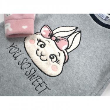 Пижама Matilda флисовая (11013-3-116G-pink) - фото 7