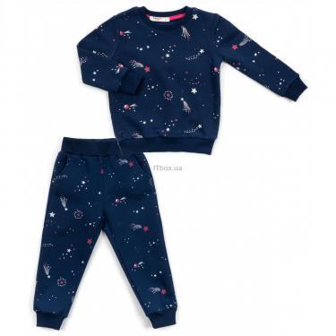Пижама Breeze со звездами (15116-104-blue) - фото 1