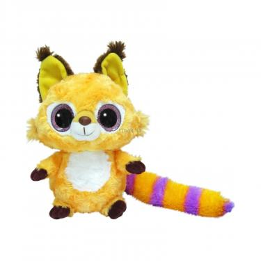 Мягкая игрушка Aurora Yoo Нoo Рысь сияющие глаза 23 см Фото
