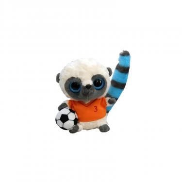 Мягкая игрушка Aurora Yoohoo Футболист оранжевая футболка 12 см Фото