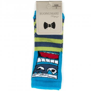 Шкарпетки BNM з монстриками (M0C0101-2063-5B-blue) - фото 1
