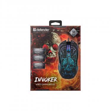 Мышка Defender Invoker GM-947 Black Фото 8