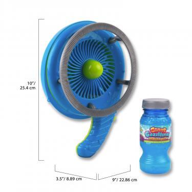 Игровой набор Gazillion Генератор мыльных пузырей Гигант вентилятор, в наб Фото 1
