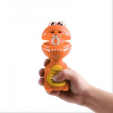 Игровой набор Gazillion Мыльные пузыри Дино, р-н 59мл, оранжевый Фото 1