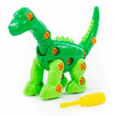 Конструктор Polesie динозавр Диплодок, 36 элементов и коробке Фото 1