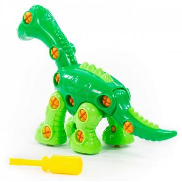 Конструктор Polesie динозавр Диплодок, 36 элементов и коробке Фото 2