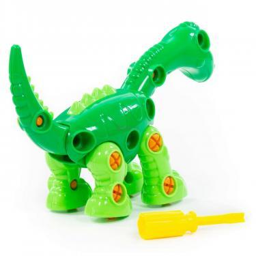 Конструктор Polesie динозавр Диплодок, 36 элементов и коробке Фото 3