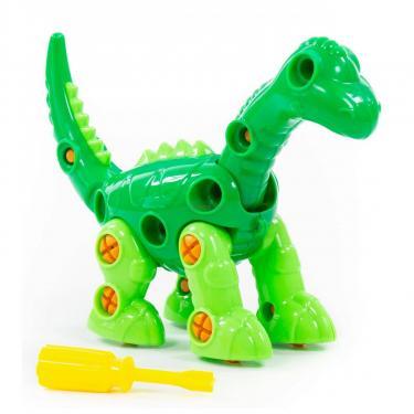 Конструктор Polesie динозавр Диплодок, 36 элементов и коробке Фото 4