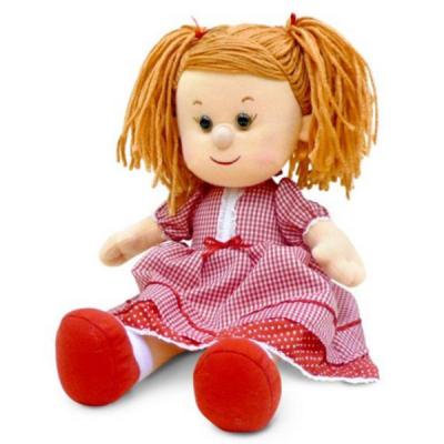 Мягкая игрушка Lava Кукла Катюша в красном платье (муз., 24 см) (LF1138A)