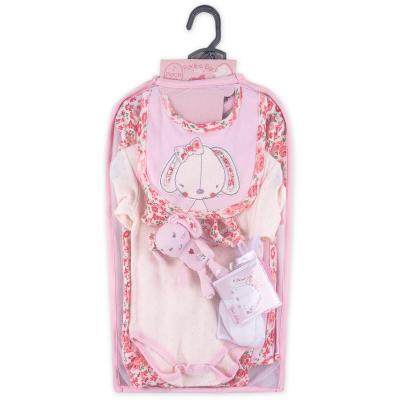 Набор детской одежды Luvena Fortuna для девочек подарочный 7 предметов (H9541.3-6)