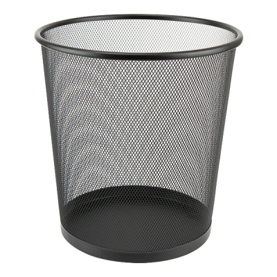 Корзина для бумаг Axent Wire mesh, black 260x280мм (2119-01-A)