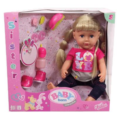 Кукла Zapf Baby Born Старшая Сестрёнка 43 см (820704)