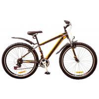 """Велосипед Discovery 26"""" TREK AM 14G Vbr 18"""" St серо-черно-оранжевый 2017 (OPS-DIS-26-083)"""