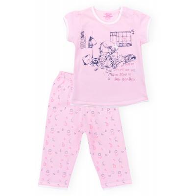 aziz с девочкой и котиками 9136-05G-pink