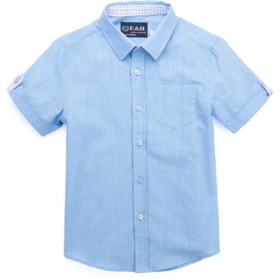 Рубашка Breeze с коротким рукавом (1280-140B-blue)