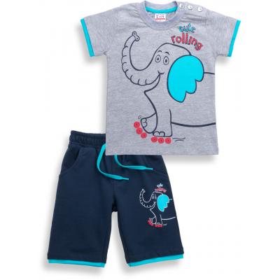 Набор детской одежды Breeze со слоником (6199-92B-blue)